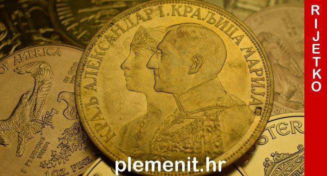 RIJETKA KOVANICA 4-dukat kralj Aleksandar