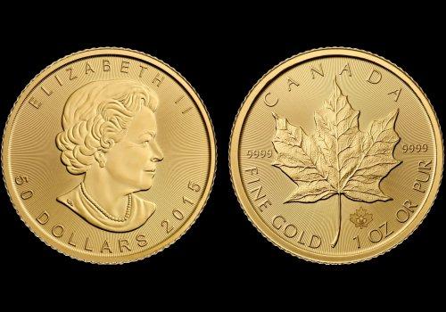Zlatnik Maple Leaf