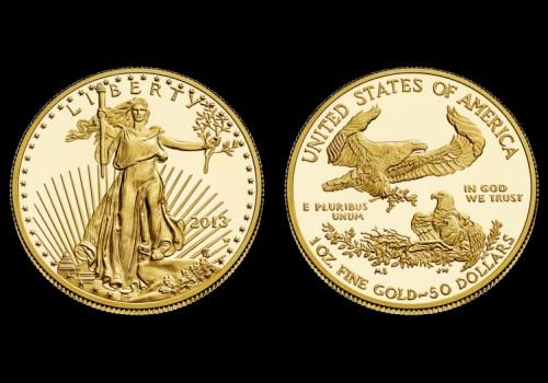 Zlatnik American Eagle