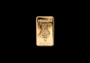 Zlatna poluga 1 gram, Heraeus
