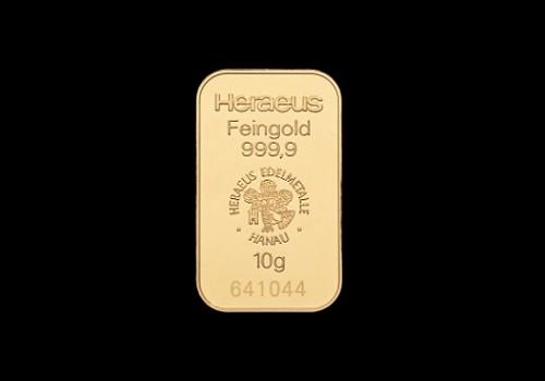 Zlatna poluga 10 grama
