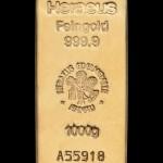 Zlatna poluga 1000 grama