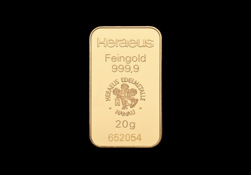 Zlatna poluga 20 grama