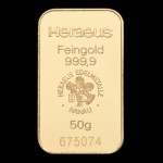 Zlatna poluga 50 grama
