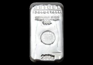 Srebrna poluga 250 grama, srebrne poluge od 250 grama