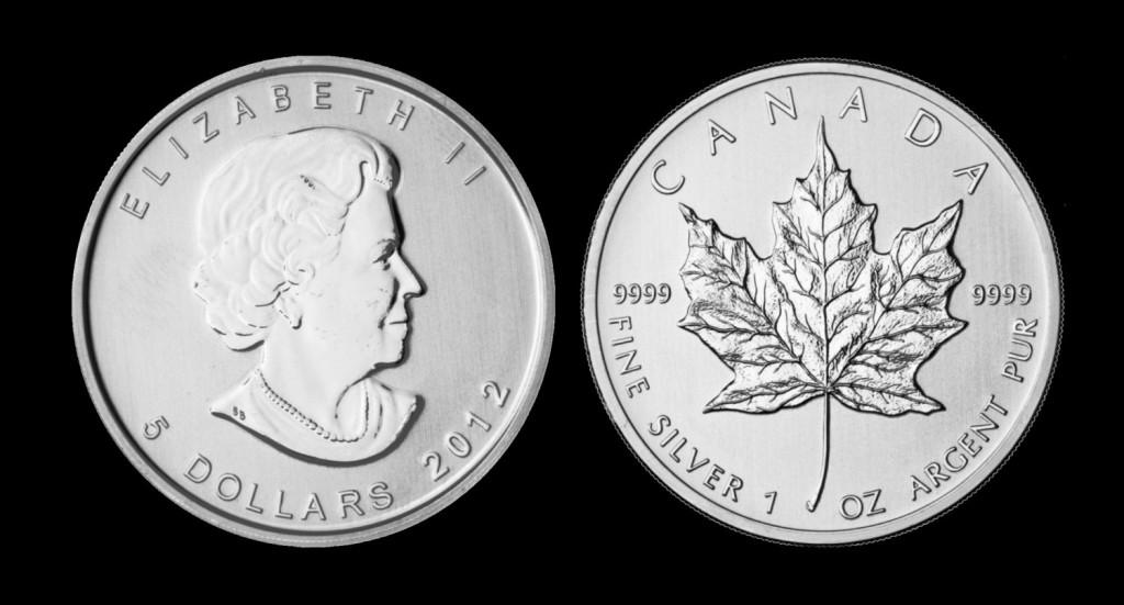 Srebrnjak Maple Leaf (Javorov list), 1 unca, Kanada