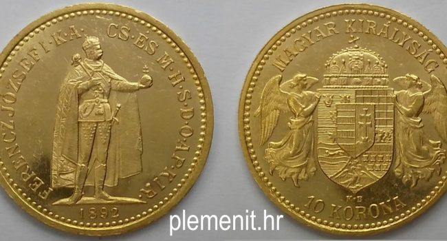 AKCIJA! Zlatnik 10 korona Ferencz Jozsef
