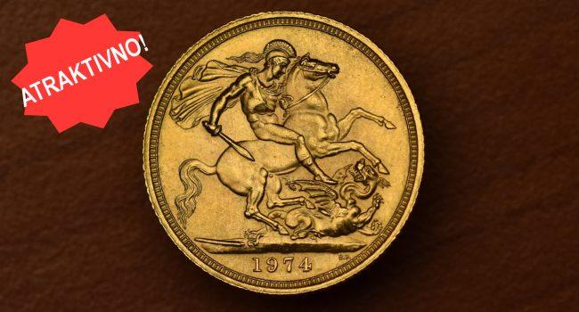 ATRAKTIVNO: Britanski povijesni zlatnici...