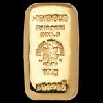 Zlatna poluga 100 grama lijevana Heraus