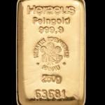 Zlatna poluga 250 grama
