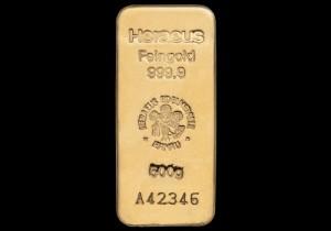 Zlatna poluga 500 grama, Heraeus