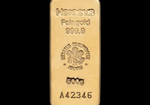 Zlatna poluga 500 grama