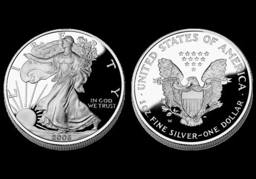 Srebrnjak American Eagle, Sjedinjene Države