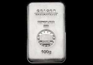 Srebrna poluga 100 grama, srebrne poluge od 100 grama