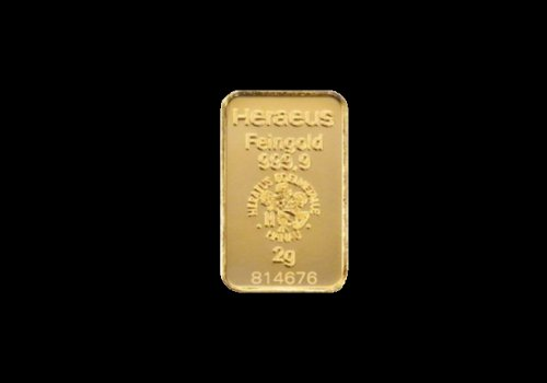 Zlatna poluga 2 grama