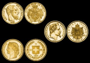 Zlatnici latinske monetarne unije