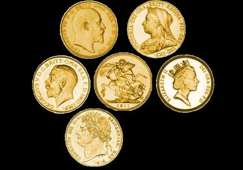 Zlatnici Sovereign