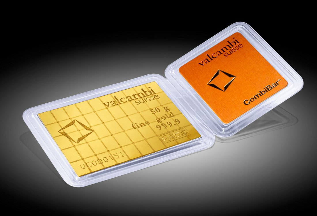 Zlatna poluga Combibar 50 x 1 gram
