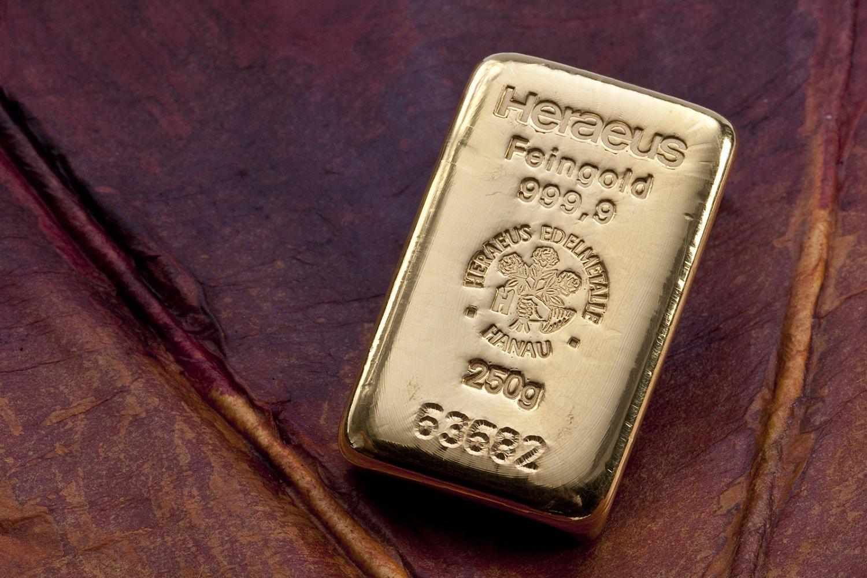 AKCIJA: Zlatna poluga 250 grama