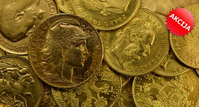 AKCIJA! Francuski povijesni zlatnici