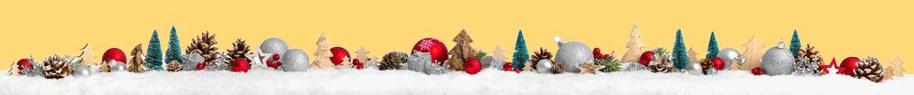 Božićni ornament bijeli
