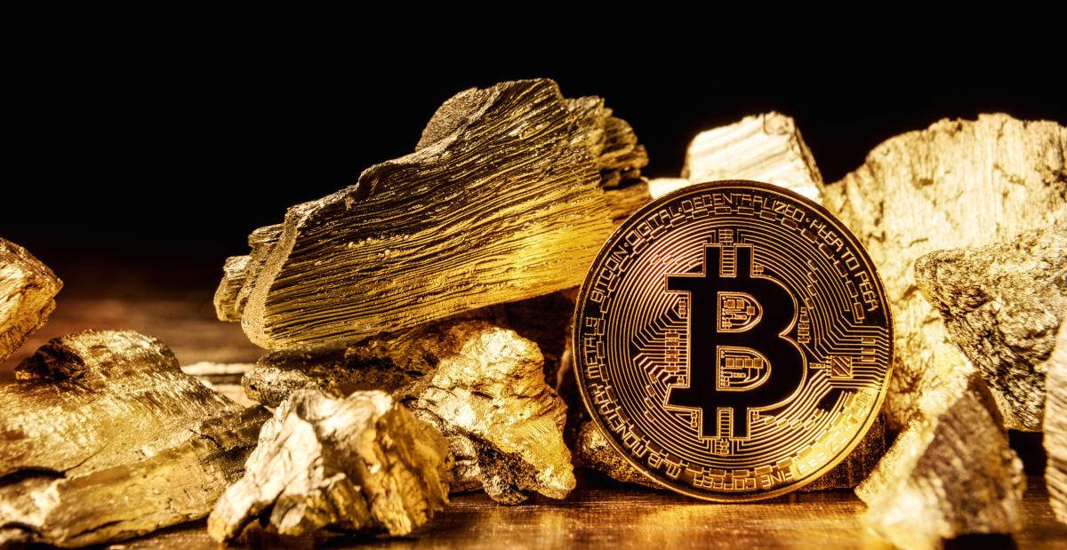 Bitcon i zlato