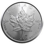 Srebrnjak Javorov list (Maple leaf) 1 unca