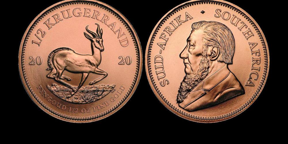 AKCIJA: Zlatnik Krugerrand od pola unce čistog zlata