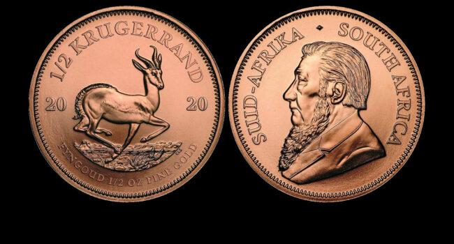 AKCIJA: Zlatnik Krugerrand od pola unce čistog...