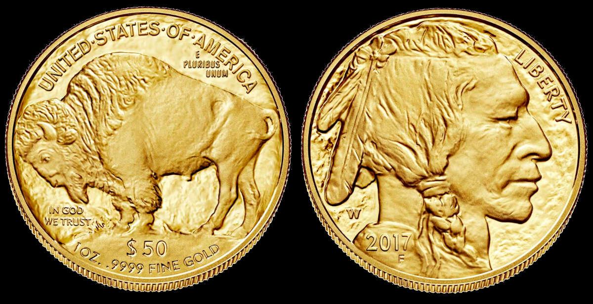 Američki zlatnik Buffalo (Bizon)